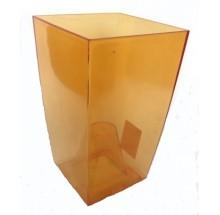 LAMELA OSŁONKA FINEZJA POMARAŃCZOWA TRANSPARENTNA 17cm×19,5cm  (ART. 377S)