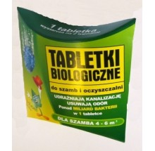 BIOEXPERT TABLETKI BIOLOGICZNE DO SZAMB I OCZYSZCZALNI -  1 SZT