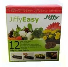 JIFFY EASY TORFOWE KRĄŻKI PĘCZNIEJĄCE 36mm - 12SZT