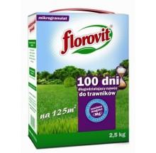 FLOROVIT NAWÓZ DŁUGODZIAŁAJĄCY 100 DNI DO TRAWNIKÓW - 2,5KG