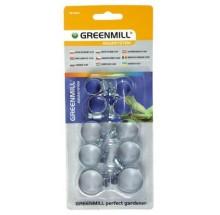 GREENMILL OPASKI ZACISKOWE DO WĘŻA 10SZT (GB1202C)